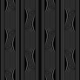 Seamless striped lines pattern. Royalty Free Stock Image