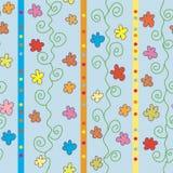 Seamless striped pattern Royalty Free Stock Photo