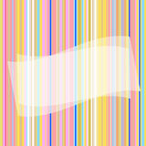 Seamless striped pattern. Striped seamless background with translucent banner vector illustration