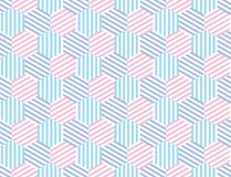 Seamless striped pattern. Fun and simple summer pattern. Of stripes. Rose motif for surface design, wallpapers, pattern fills, web page backgrounds, surface Royalty Free Stock Photography
