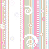 Seamless striped pattern (vector) Stock Image