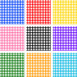Seamless striped patterns. Vector illustration Royalty Free Stock Photography