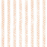 Seamless striped vintage background. Simple cute ornament. Pink and white colors. Vector illustration Royalty Free Stock Images