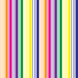 Seamless Stripes Pattern. Colorful stripes on white bacground Royalty Free Stock Image