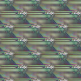 Seamless stripes pattern green blue violet purple diagonally Royalty Free Stock Photography