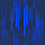 Seamless stripes and rectangle pattern dark blue gray blurred Royalty Free Stock Images