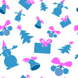 Seamless structure - christmas Royalty Free Stock Images