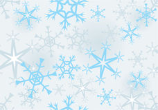 Seamless structure with snowflakes Royalty Free Stock Photography