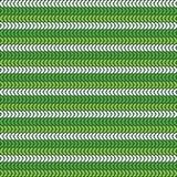 Seamless Sts Patrick dag mönstrar stock illustrationer