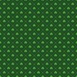 Seamless Sts Patrick dag mönstrar vektor illustrationer
