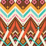 Seamless Stylish Chevrons Pattern. Seamless Chevrons Pattern. Ethnic Style Print for Textile Design. Mix of Crossed Lines, Triangles and Chevrons vector illustration