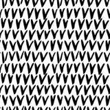 Seamless stylish hand drawn pattern Stock Photography
