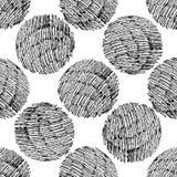 Seamless stylish hand drawn pattern Royalty Free Stock Photography