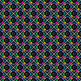 Seamless stylish multicolor pattern. Royalty Free Stock Photos
