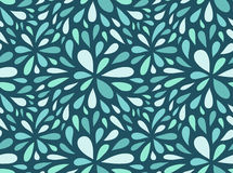 Seamless stylish pattern with  raindrops. Stock Images