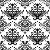 Seamless stylish wallpaper, vector illustration Stock Images