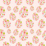 seamless stylized textur för easter ägg Royaltyfria Bilder