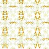 seamless stylized wallpaper Arkivbild