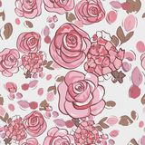 Seamless summer floral pattern Stock Photo