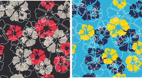 seamless Summer flower pattern Royalty Free Stock Photography