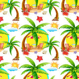 Seamless summer Stock Images