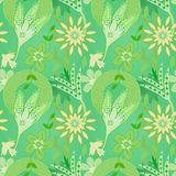 Seamless summer pattern Stock Photo