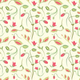Seamless summer tiny floral pattern Royalty Free Stock Photography