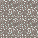 Seamless summer tiny floral pattern Stock Photography
