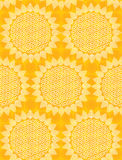Seamless sun fabric Stock Photo