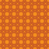 Seamless sun wallpaper. Seamless wallpaper with sun forms Stock Images