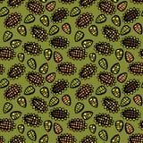 Seamless sunflower pattern Royalty Free Stock Photography