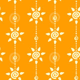 Seamless sunny background. Seamless summer sunny web pattern Stock Photography