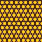Seamless suns Stock Photo
