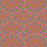 Seamless surface pattern with colorful ancient mandalas. Can use Stock Images