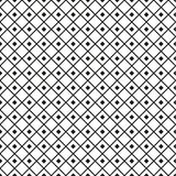 Seamless swatch - square or rhombus ornaments in diagonal way in Royalty Free Stock Images