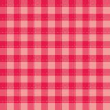 Seamless sweet pink background - checkered vector pattern or grid texture for web design, desktop wallpaper or culinary blog websi vector illustration
