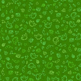 Seamless sweet tea pattern Stock Image
