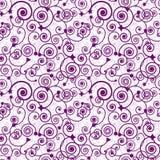 Seamless swirl pattern Royalty Free Stock Photo