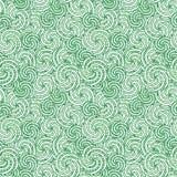 Seamless swirl pattern Stock Image