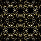 Seamless swirl pattern Stock Images