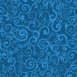 Seamless swirl pattern background Stock Images