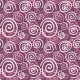 Seamless swirl pattern Royalty Free Stock Images