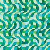 Seamless swirl plaid pattern Stock Photos