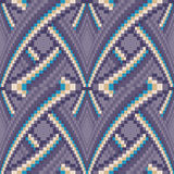 Seamless swirl tile pattern Royalty Free Stock Images