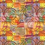 seamless swirls royaltyfri illustrationer