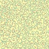 seamless swirls för modell Royaltyfri Bild