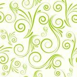 seamless swirls för prydnad stock illustrationer