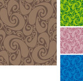 Seamless swirls pattern II Royalty Free Stock Image