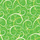 Seamless Swirly Wallpaper. You can use this repeating pattern to fill your own custom shapes and backgrounds Royalty Free Stock Photos