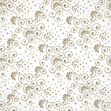 Seamless swirly wallpaper Royalty Free Stock Images